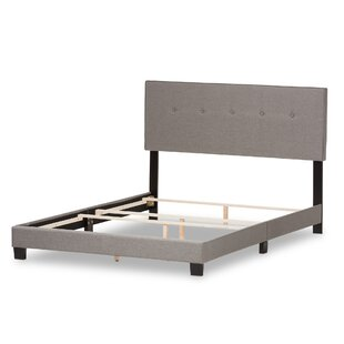 Fedor Fabric Upholstered Panel Bed by Wrought Studio