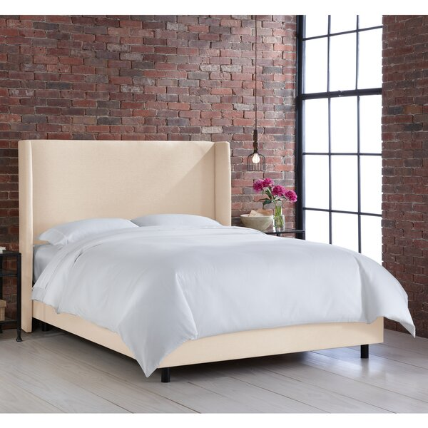 Harger Upholstered Standard Bed by Brayden Studio
