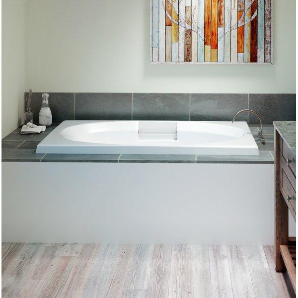 Nova Left-Hand 72 x 42 Drop in Whirlpool Bathtub by Jacuzzi®