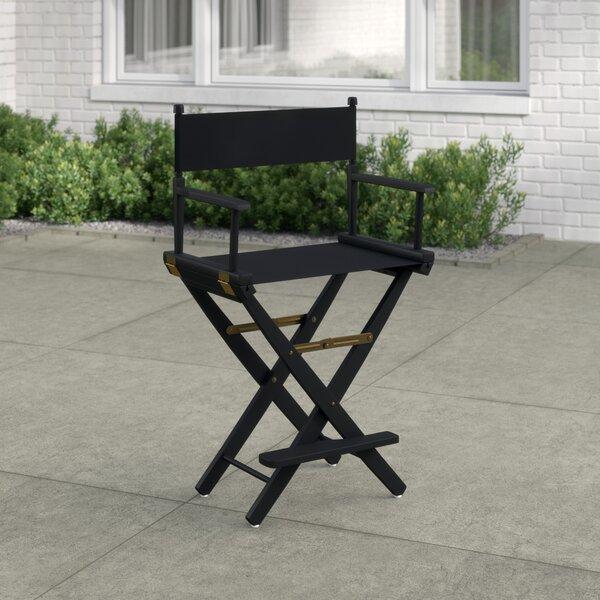Korte Premium Folding Director Chair By Mercury Row