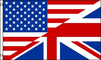 USA UK Friendship Traditional Flag by Flags Importer
