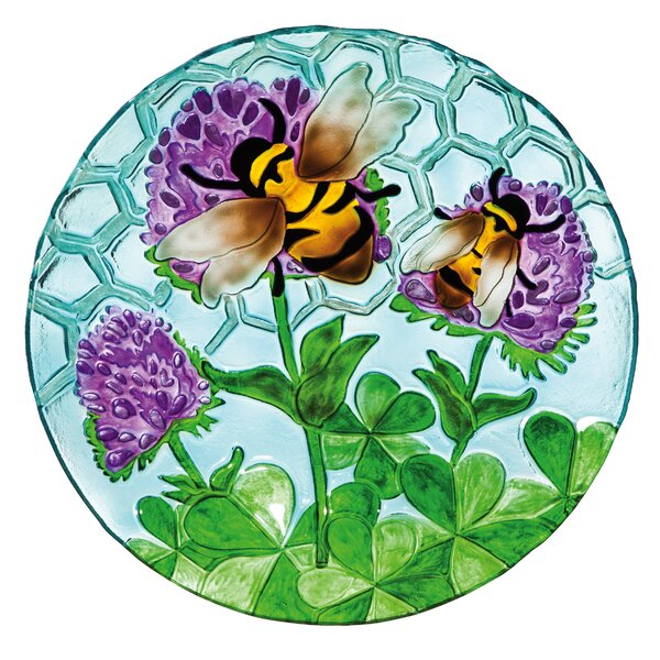 Busy Bee Days Birdbath by Evergreen Enterprises, Inc