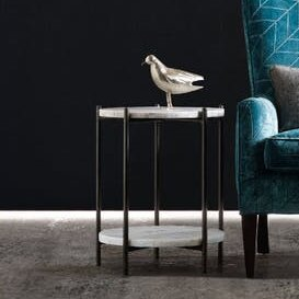 Melange Blythe End Table by Hooker Furniture