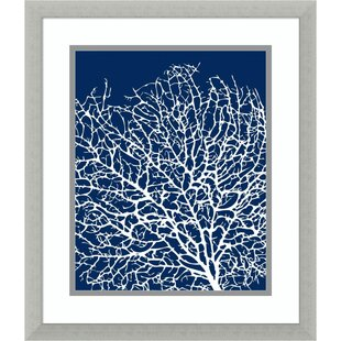 Navy And Coral Wall Art Wayfair