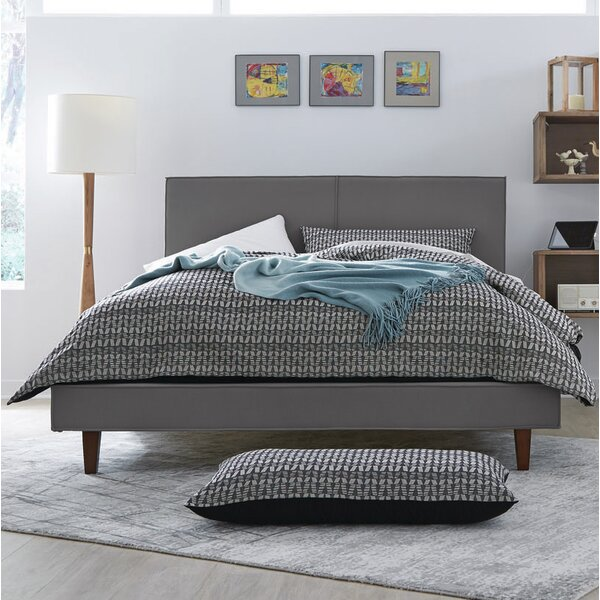 Amita Upholstered Platform Bed by Brayden Studio