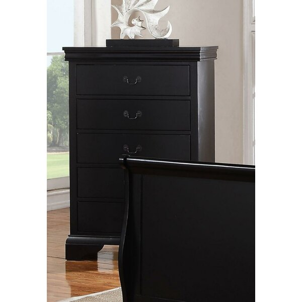 Eure 5 Drawer Accent Chest by Darby Home Co