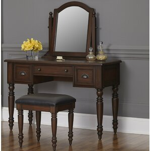 Pablo Vanity Set with Mirror by World Menagerie