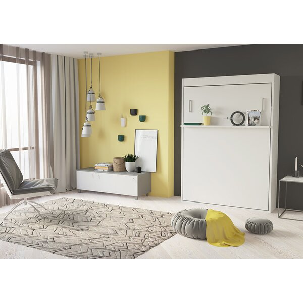 Happel Full Murphy Bed by Brayden Studio