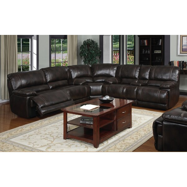 Leyla Reclining Sectional by Winston Porter