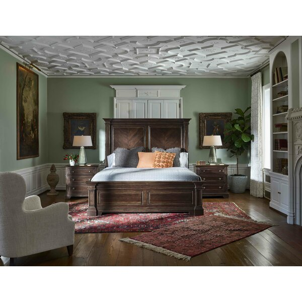 Jefferey Panel Bed by Canora Grey