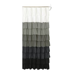 Bournazel Ruffled Shower Curtain