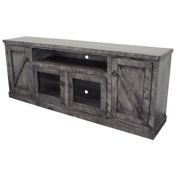 Bolebroke Solid Wood TV Stand For TVs Up To 88