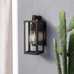 Helena 1-Light Outdoor Wall Lantern