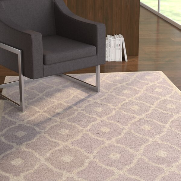 Kroeger Light Gray/Ivory Area Rug by Latitude Run