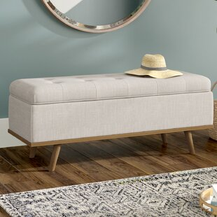 Read Reviews Valerio Upholstered Storage Entryway Bench ByGeorge Oliver