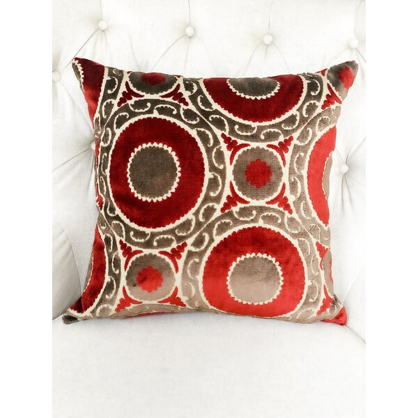 Bailor Handmade Luxury Pillow by Canora Grey