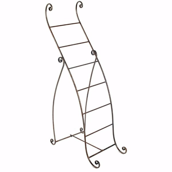 Cydney Standing Metal Mounting Towel Rack by Fleur De Lis Living