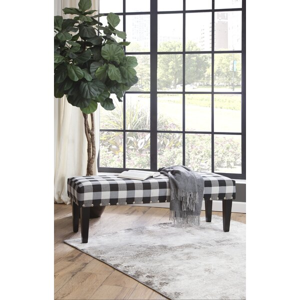 Onley Upholstered Bench by Gracie Oaks