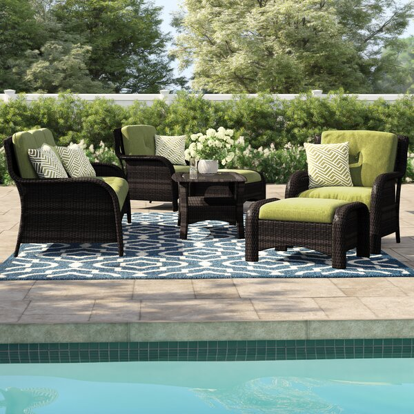 Asherman 6 Piece Conversation Set with Cushions by Sol 72 Outdoor