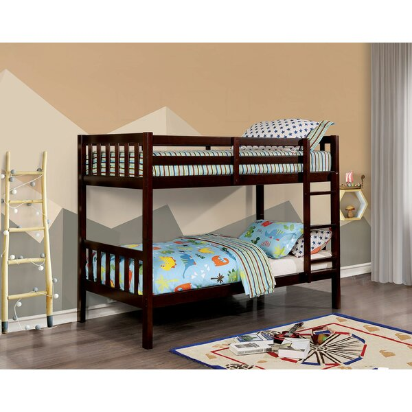 Odelina Twin Over Twin Bunk Bed By Harriet Bee by Harriet Bee Great Reviews