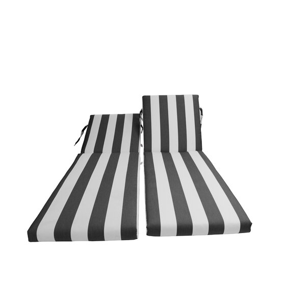 Indoor/Outdoor Sunbrella Chaise Lounge Cushion By Bellini Home And Garden
