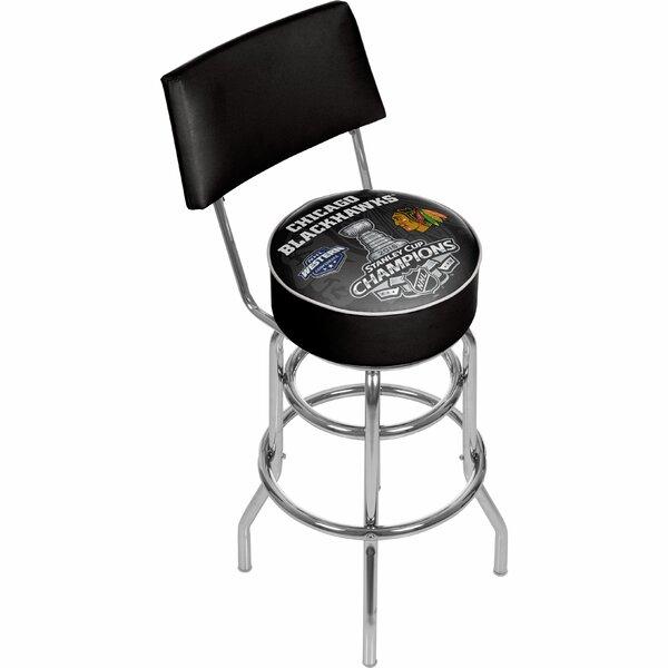 NHL 31 Swivel Bar Stool by Trademark Global