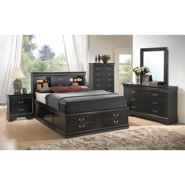 Felipe Storage Platform Configurable Bedroom Set by Charlton Home