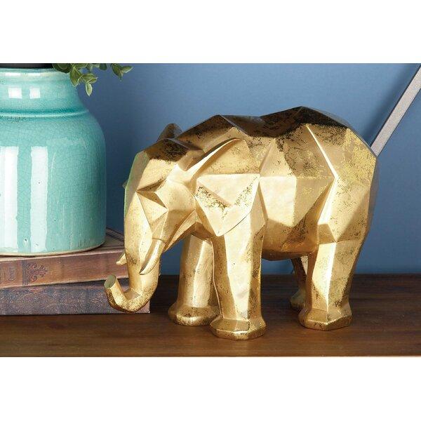 Polystone Elphant Figurine by Cole & Grey