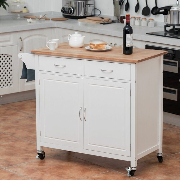 Grigor Kitchen Cart by Winston Porter