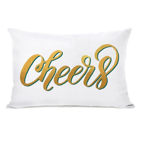 Rath Cheers Lumbar Pillow by Latitude Run