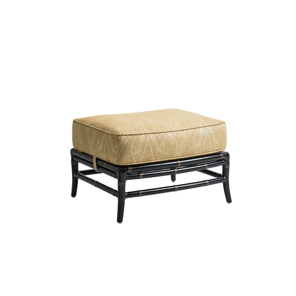 Marimba Outdoor Ottoman with Cushion by Tommy Bahama Outdoor