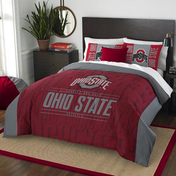 NCAA 3 Piece Full/Queen Comforter Set by Northwest Co.
