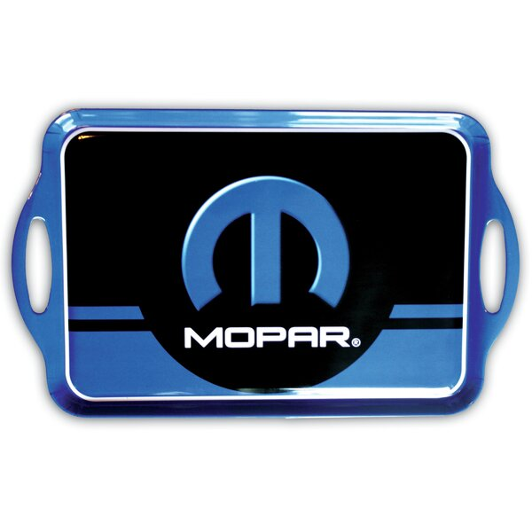Mopar Melamine Serving Tray by MotorHead Products