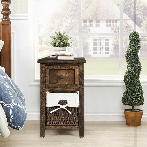 Holguin End Table with Storage by Gracie Oaks