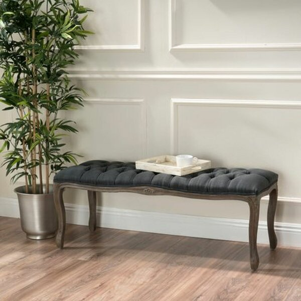 Clifton Upholstered Bench by One Allium Way