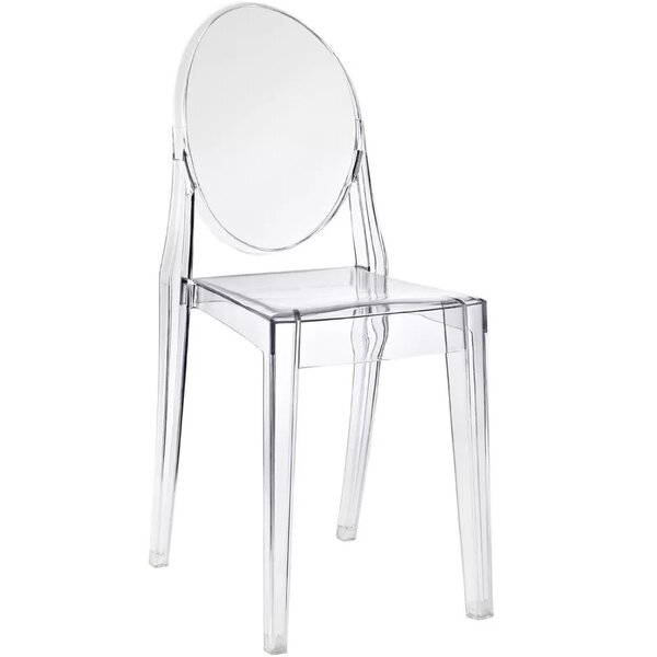 Bryker Woods Transparent Dining Chair by Orren Ellis