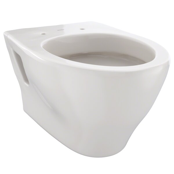 Aquia 1.6 GPF Elongated Wall Hung Toilet by Toto