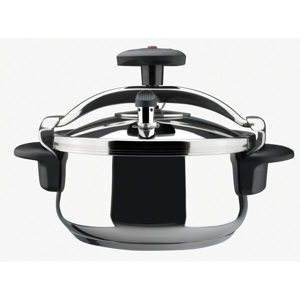 Star Belly Stainless Steel Fast Pressure Cooker by Magefesa