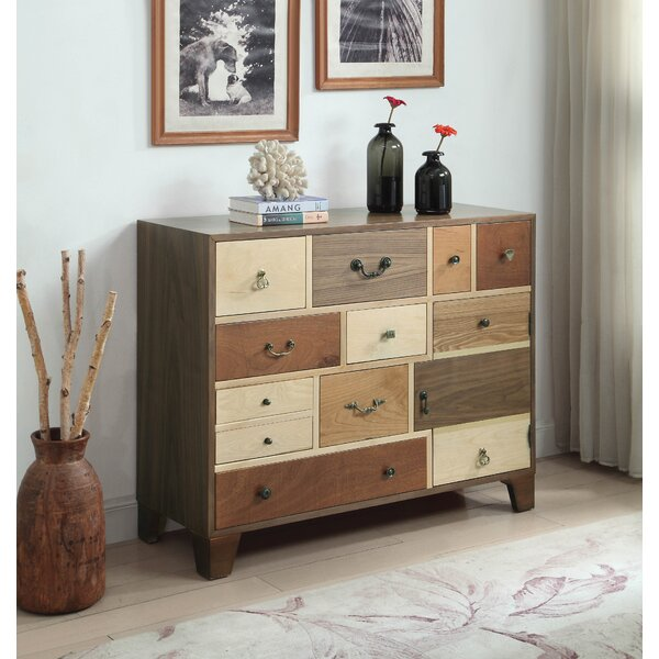 Talley 12 Drawer Apothecary Accent Chest by Millwood Pines Millwood Pines