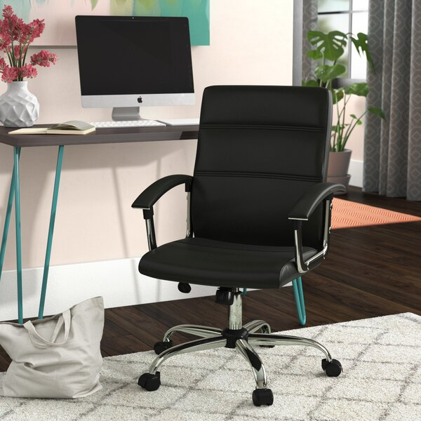 Rybicki Mid-Back Desk Chair by Wrought Studio