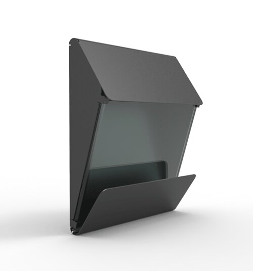 X Press Wall Mounted Mailbox by Decorpro