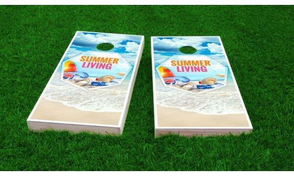 Beach Cornhole Game (Set of 2) by Custom Cornhole Boards