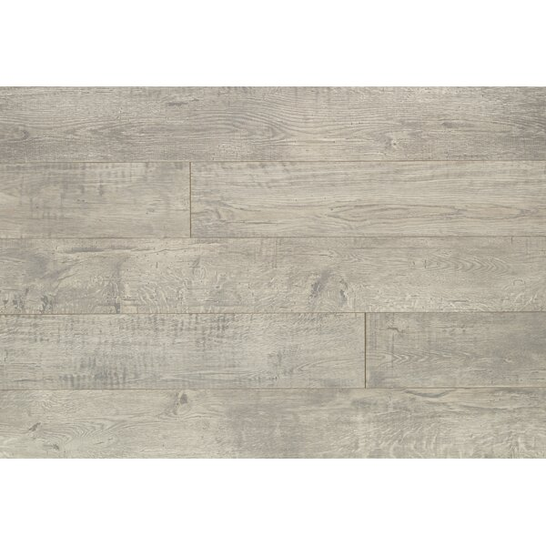 Reclaime 7.5 x 54.34 x 12 mm Oak Laminate Flooring in Armor by Quick-Step