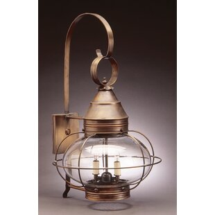 Looking for Onion 1-Light Outdoor Wall Lantern By Northeast Lantern