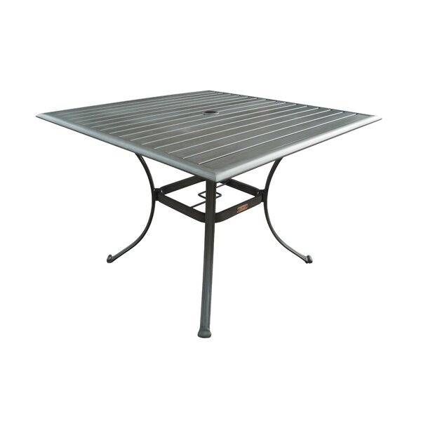 Newport Beach Metal Dining Table by Panama Jack Outdoor