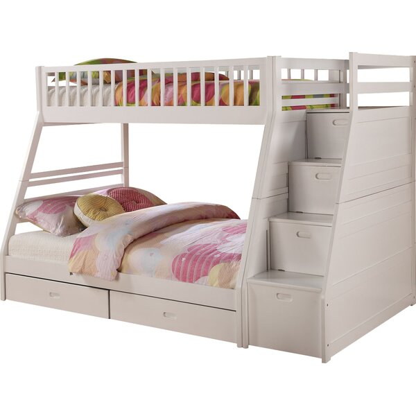 Pierre Twin over Full Bunk Bed with Storage by Viv + Rae