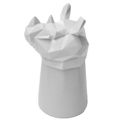 Rhino 2 oz. Ceramic Shot Glass by Molla Space, Inc.