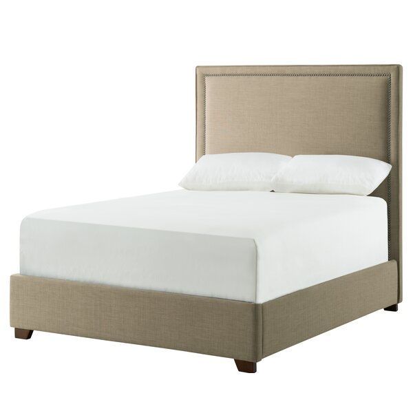Almaguer Upholstered Standard Bed by Darby Home Co