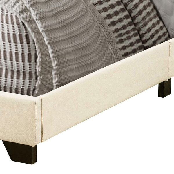 Cloer Upholstered Standard Bed By Mercury Row by Mercury Row Design