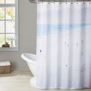 Affordable Mina Teslaru Santa Monica Shower Curtain ByBrayden Studio